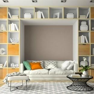 Evi daha geniş göstermenin yolları ve dekorasyon ö