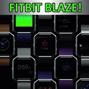 Fitbit Blaze! Dokunmatik, renkli ekranlı, akıllı s