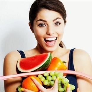 Güzellik kremi yerine sebze ve meyveler
