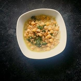 Ispanaklı Nohutlu Yemeği - Sağlıklı Yemekler