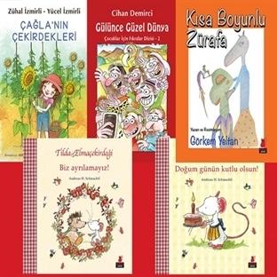 Kırmızı Kediden Karne Hediyesi 5 Yeni Kitap