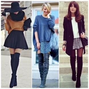 Kışın Etek Giymenin 5 Yolu