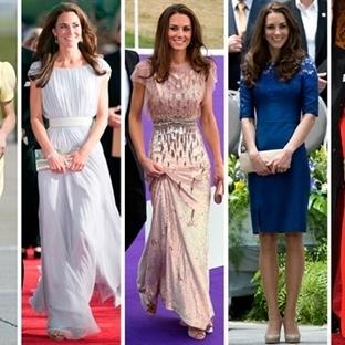Kraliyet Şıklığı: Kate Middleton