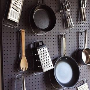 Küçük mutfakları düzenlemek için yaratıcı ipuçları