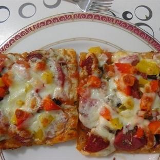 Milföy Pizza (Pratik Pizza)  Dost Mutfak
