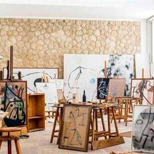 Miró'nun Stüdyosu Londra'da