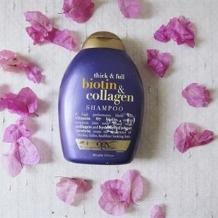 Organix Biotin&Collagen Dolgunlaştırcı Şampuan!