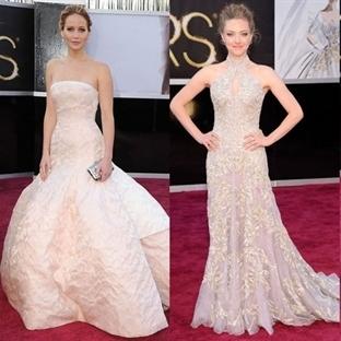 Oscar Ödüllerinin Şık Kırmızı Halı Abiyeleri
