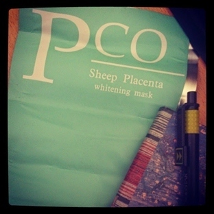 PCO Sheep Placenta Whitening Mask - Pco Plesanta