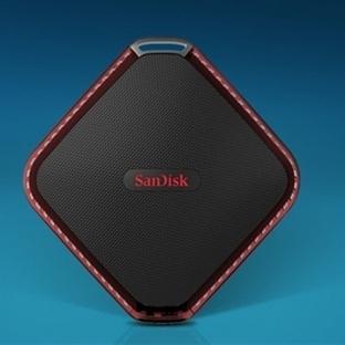 SanDisk Su Geçirmez SSD Üretti!