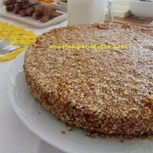 Şekersiz Susamlı Kek