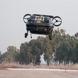 İsrail Dikey Havalanan Askeri Aracı Test Etti