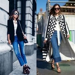 Trend: Kısa İspanyol Paça Jean