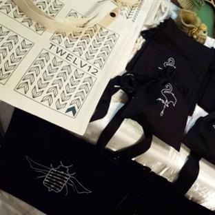 Twelv12 ve Suriyeli Kadınların Organik Çantaları