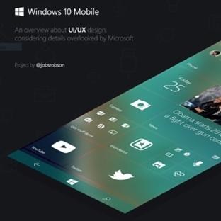 Windows 10 Mobile'a Bir de Böyle Bakın