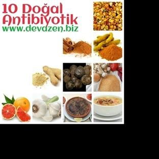 10 Doğal Antibiyotik