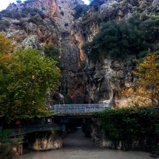 Cennetten Bir Köşe: Saklıkent Kanyonu