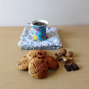 Çikolatalı Şekersiz Kurabiye