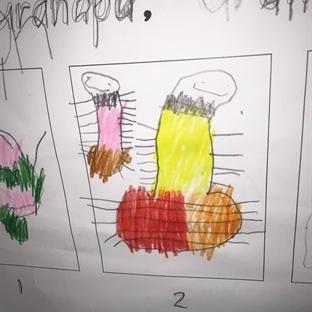 Çocukların Masum Duygularla Çizdiği Resimler