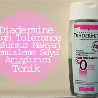 Diadermine High Tolerance Kusursuz Makyaj Temizlem
