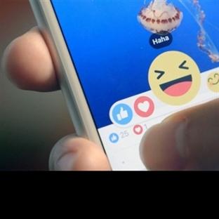 Facebook'ta Beğen Tuşuna Emojiler Geldi!