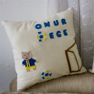 Fenerbahçeli takı yastıkları