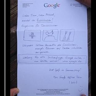 Google'a İlginç Bir Mektup Yazan Baba Oğula Cevap