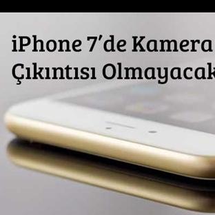 iPhone 7 Kamera Çıkıntısından Kurtuluyor