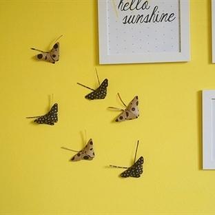 Kağıttan Kelebek Yapımı
