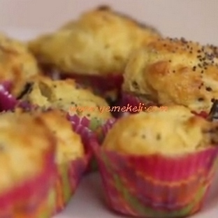Mısır Unlu Mini Cupcake