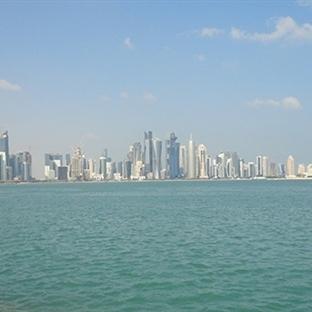 Modern Arap Şehri Doha...