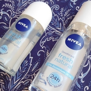 Nivea Fresh Natural Deodorant ve Roll-On