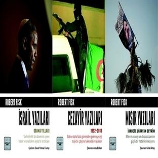 Ortadoğu Uzmanı Robert Fisk'ten 3 Kitap Birden