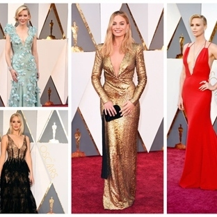 Oscar Ödülleri 2016 En Şık Ünlüler