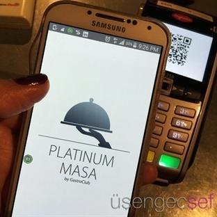 """""""Platinum Masa"""" Uygulaması ile Cüzdan Taşımaya Son"""