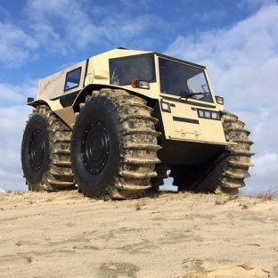 Rusların yeni canavar arazi aracı (Video)