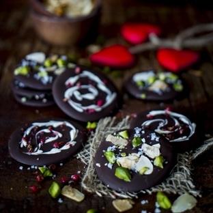 Sag´s mit Schokolade: Zweierlei Schokoladentaler