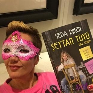 Seda Diker'in Yeni Kitabını Kız Kıza Pijama Partis
