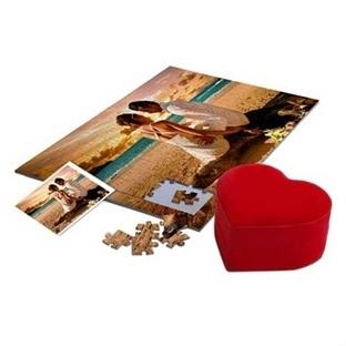 Sevgiliye Hediye: Kişiye Özel Foto Baskılı Puzzle