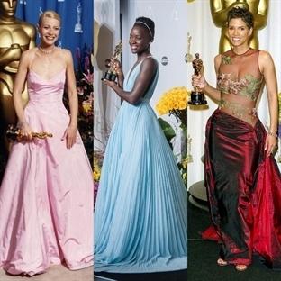 Şimdiye Kadar ki En iyi Oscar Elbiseleri