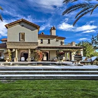 Sylvester Stallone'un Kaliforniya'daki Şık Evi