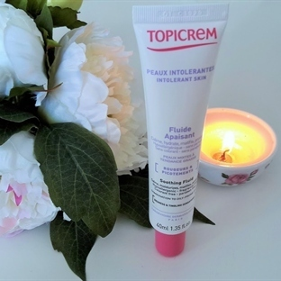 Topicrem Soothing Fluid Face Cream