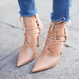 Trend: Püsküllü Jean paçaları