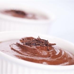 Vegan Çikolatalı Mousse