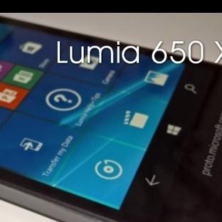 Windows 10'lu Yeni Lumia 650 XL Göründü