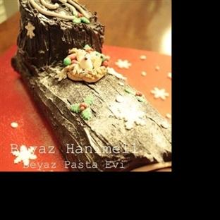 Yılbaşı Kütük Pastası