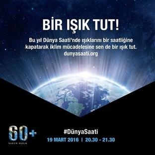 19 Mart'ta Işıkları Kapatıyoruz!