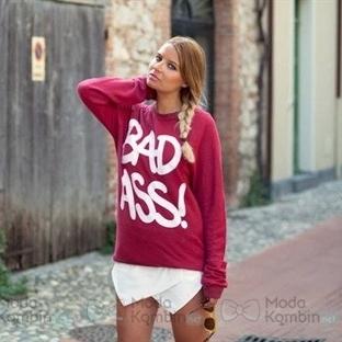 2016 Bayan Sweatshirt Modası