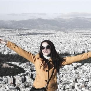 Atina'ya Yukarıdan Bakış..