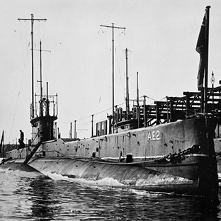Avustralya Denizaltı Gemisi AE2